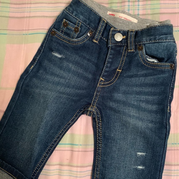066ed1bd Levi's Bottoms | Baby Boy Levi Pull On Jeans | Poshmark